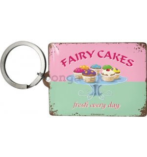 Retro kľúčenka – Fairy Cakes - Fresh every Day