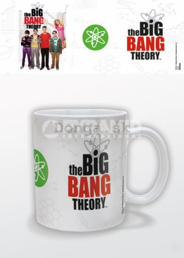Hrnček - The Big Bang Theory (logo)