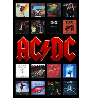Plagát - AC-DC Album Covers