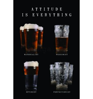 Plagát - Attitude is Everything (1)