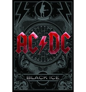 Plagát - ACDC black ice