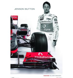 Plagát - McLaren Double Button