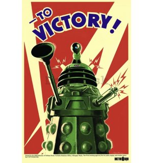 Plagát - Doctor Who (To Victory)