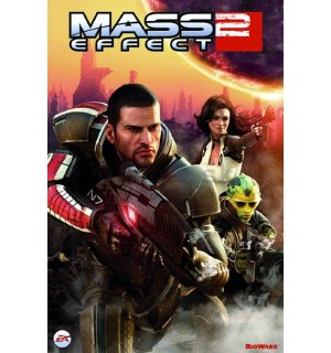 Plagát - Mass Effect 2