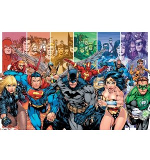 Plagát - Justice League America (Generations)