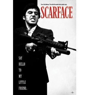 Plagát - Scarface (Say Hello To My Little Friend)