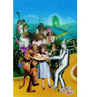 Plagát - Wizard Of Oz (Yellow Brick Road)