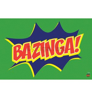 Plagát - Big Bang Theory (Bazinga Icon)