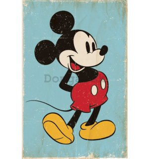 Plagát - Mickey Mouse (Retro)