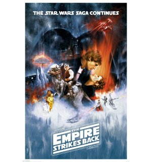 Plagát - Star Wars V (The Empire Strikes Back)
