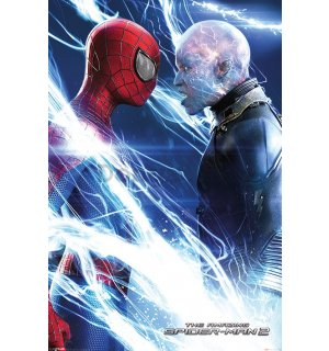 Plagát - Amazing Spiderman 2 (Spiderman & Electro)