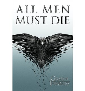 Plagát - Game of Thrones (All Men Must Die)