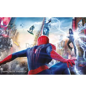 Plagát - Amazing Spiderman 2 (Bitka)