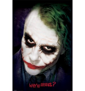 Plagát - Joker (Why So Serious?)