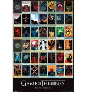 Plagát - Game of Thrones (EPISODES)