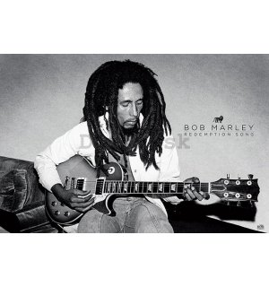 Plagát - Bob Marley (redemption song)