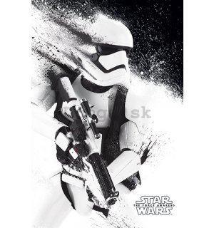 Plagát - Star Wars VII (Stormtrooper paint)