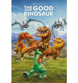 Plagát - The Good Dinosaur (1)