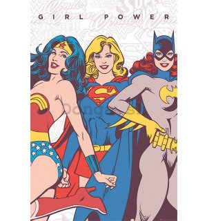 Plagát - DC Comics (Girl Power)