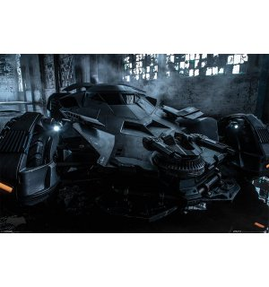Plagát - Batman vs. Superman (Batmobil)