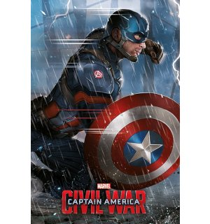 Plagát - Captain America Civil War (Captain)