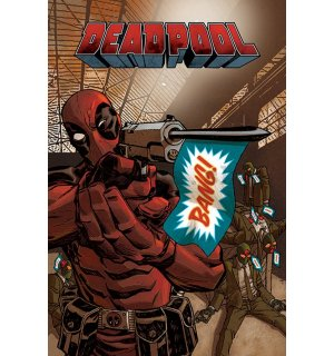 Plagát - Deadpool (1)