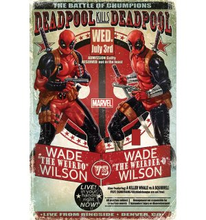 Plagát - Deadpool (Wade vs. Wade)