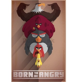 Plagát - Angry Birds (Born to be Angry)