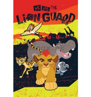 Plagát - The Lion Guard (1)