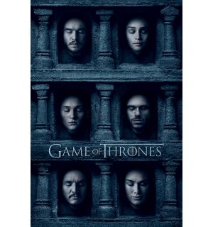 Plagát - Game of Thrones (Hall of Faces)