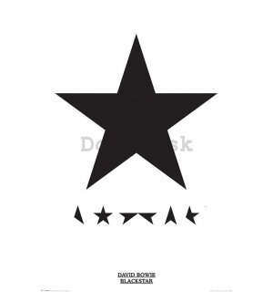 Plagát - David Bowie (Blackstar)