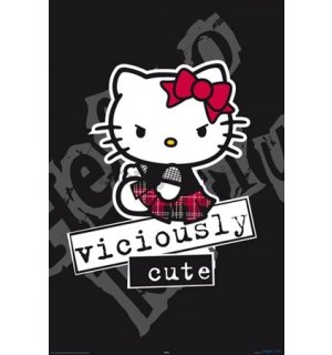 Plagát - Hello Kitty viciously cute
