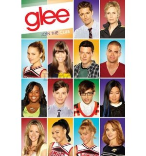 Plagát - Glee characters