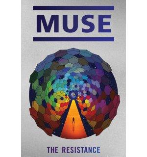 Plagát - Muse The Resistance