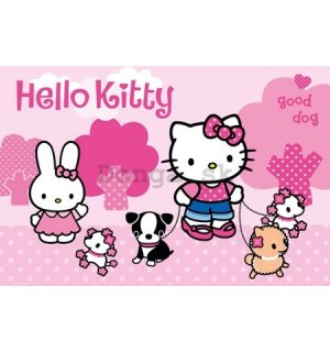 Plagát - Hello Kitty (Dog)