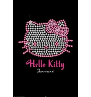 Plagát - Hello Kitty (Bling)