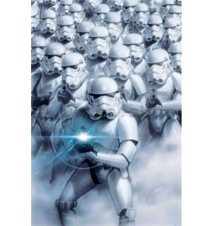 Plagát - Star Wars troopers