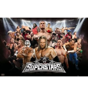 Plagát - WWE superstars 10