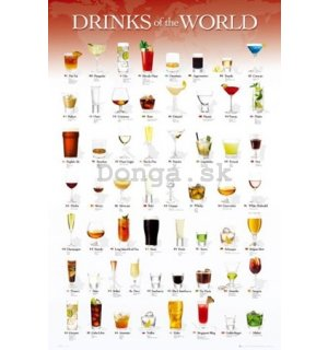 Plagát - Drinks of the World