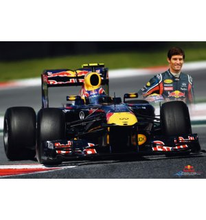 Plagát - Red Bull Racing (Webber)