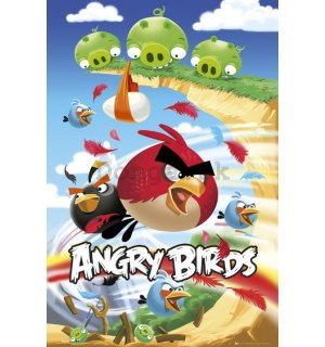 Plagát - Angry Birds (Attack)