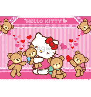 Fototapeta: Hello Kitty (2) - 254x368 cm