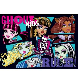 Fototapeta: Monster High (6) - 254x368 cm
