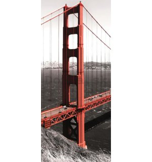 Fototapeta samolepiace: Golden Gate Bridge - 211x91 cm