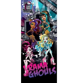 Fototapeta: Monster High (Drama Ghouls) - 211x91 cm