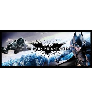 Fototapeta: Batman (The Dark Knight Rises) - 104x250 cm