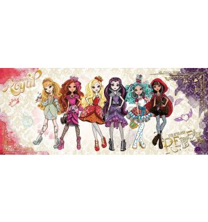 Fototapeta: Mattel Ever After High (2) - 104x250 cm