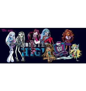 Fototapeta: Monster High (5) - 104x250 cm