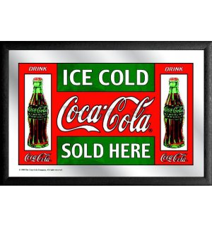 Zrkadlo - Coca-Cola (Ice Cold Sold Here)