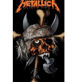 Fotoobraz - Metallica Pirate Skull